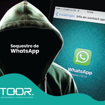Sequestraram meu WhatsApp: e agora?