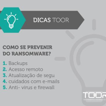 Ransomware: 5 dicas para evitar ataques